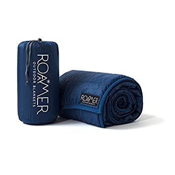 Roamer Outdoor Insulated Throw Camping Blanket Blue
