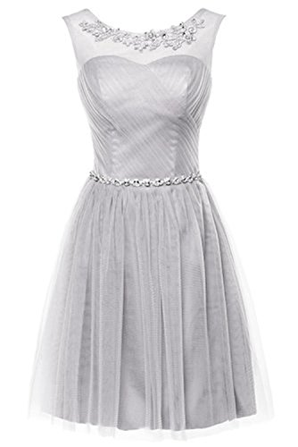 CoutureBridal Sexy A Line Crystal Knee Length Cocktail Prom Dresses Short Party Evening Gown For (Cheap Fancy Dress Plus Size)