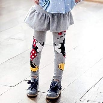 Leggings Invernali Caldi in Cotone per Bambine UKrain