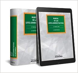 Manual De Las Leyes Administrativas (+ E-book) por Luis Martín Rebollo epub