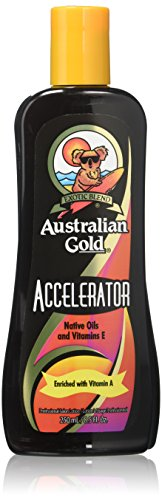 Tanning Bed Lotion Brown (Australian Gold DARK TANNING ACCELERATOR Lotion 8.5 oz)