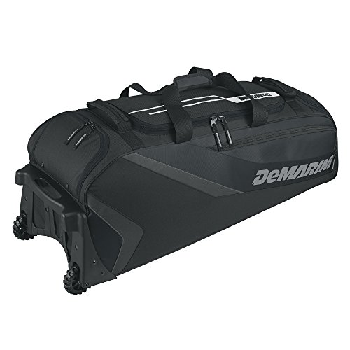 Demarini Equipment Bags (DeMarini Grind Wheeled Bag, Black)