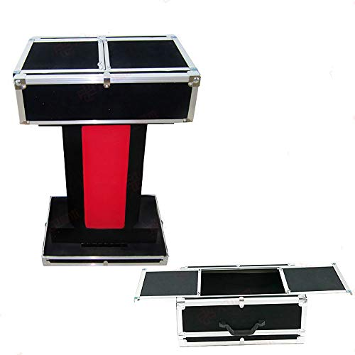Enjoyer Carrying Case & Fold-up Table Base Folding Table Magic Tricks Professional Magician Table Stage Illusions Mentalism Magic Gimmick ()
