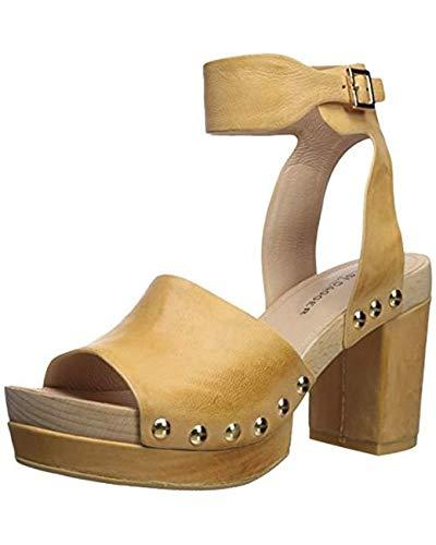 KELSI DAGGER BROOKLYN Women's Farris Heeled Sandal, Marigold, 11 M US ()