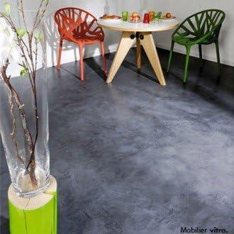 Loft Beton Cire Les Decoratives Peinture Aspect Beton Cire Bauxite 3 00litre Amazon Fr Bricolage