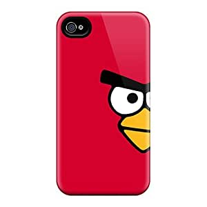 High Quality Angry Bird Tpu Case For Iphone 4/4s