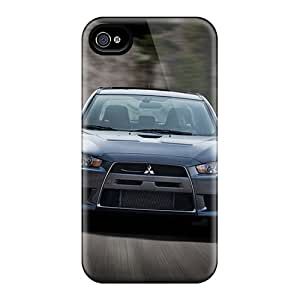 Iphone 4/4s Case Cover - Slim Fit Tpu Protector Shock Absorbent Case (evo Mr 2012)
