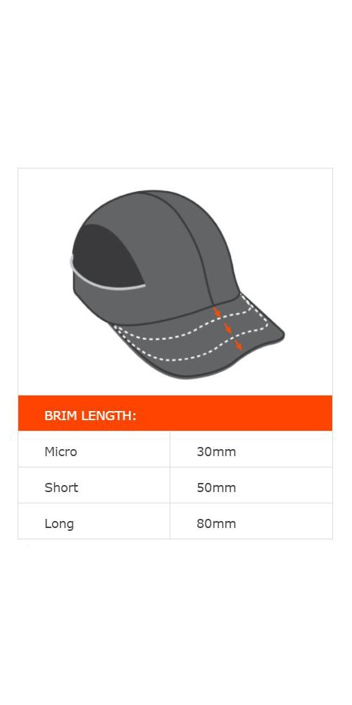 Safety Bump Cap, Baseball Hat Style, Breathable Head Protection, Long Brim, Skullerz 8950 by Ergodyne (Image #7)