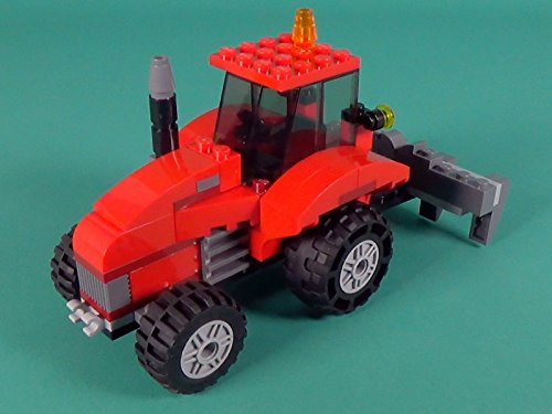 - Farm Tractor Building Instructions with LEGO Classic 10697