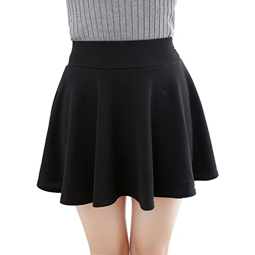 Skirts Versatile Stretchy Flared Pleated product image