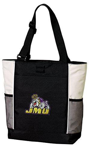 Broad Bay JMU Tote Bags James Madison University Totes Beach Pool Or Travel by Broad Bay