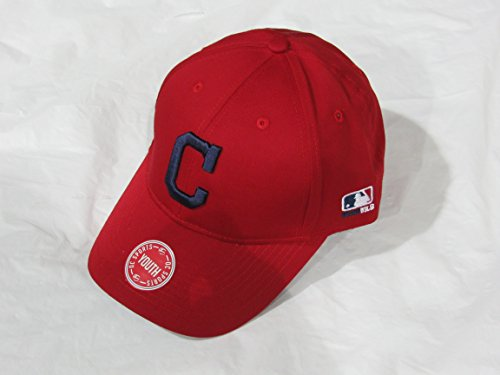 OUTDOOR CAP CLEVELAND INDIANS HOME ALTERNATE RED YOUTH BASEBALL HAT ()