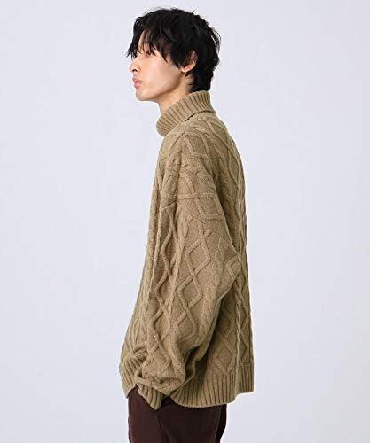【WEB限定】ビッグビッグケーブルニット(洗える) 97917145