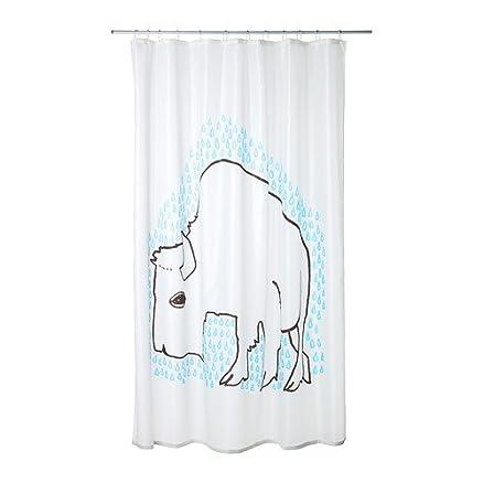 IKEA TYDINGEN - Tenda per doccia o vasca da bagno: Amazon.it: Casa ...