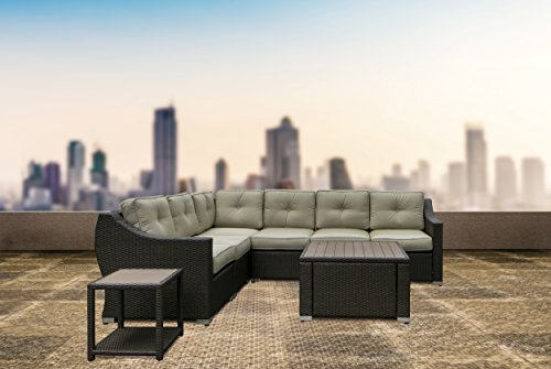 Pike and Pine Pacifica Beach Collection 6 Piece Corner Sectional Set price