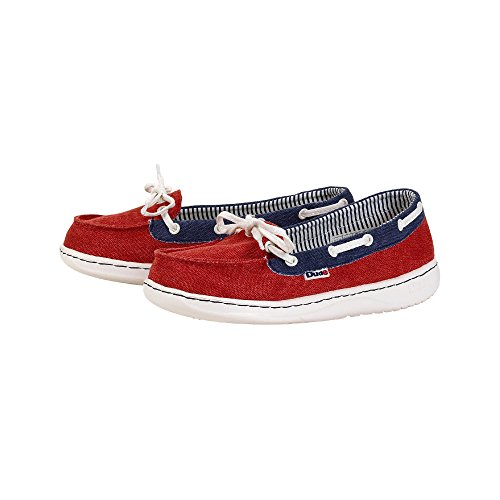 Dude donna Scarpe da Mocha Color Red Classic Multi 7Oa7BrqH
