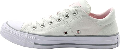 bc61090f6bfee Converse Women s Chuck Taylor All Star Madison Low Top White White Arctic  Pink