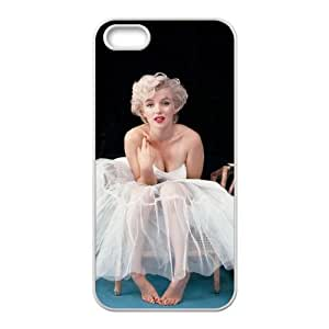 iPhone 5 5s Cell Phone Case White Marilyn Monroe Lmqtn