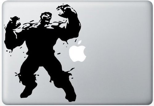 hulk macbook decal - 5