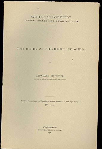 Kuril Islands - THE BIRDS OF THE KURIL ISLANDS
