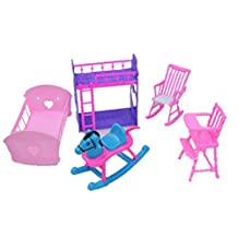 Cheap Doll House Furniture Set-The Babys Room Sets
