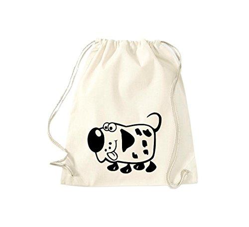 Shirtstown - Bolso de tela de algodón para mujer Beige - naturaleza
