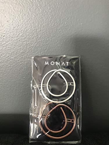 MONAT Oil Drop Logo Hair Clip Set ()