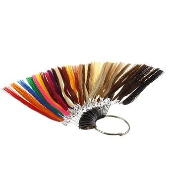 Farbring - Muster aller Haarfarben für Extensions: Amazon.de: Beauty