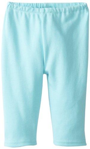 Zutano Unisex Baby Pastel Solid Pant, Aqua, 24 Months