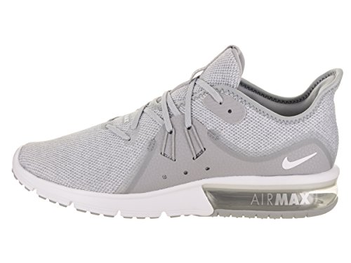 Multicolore Homme pure 3 Running White Sequent Chaussures Grey Max Compétition NIKE 003 Air de Wolf wpqFzz