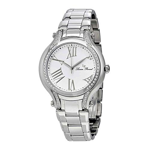 Lucien Piccard Women's 'Elisia' Quartz Stainless Steel  Watch, Color:Silver-Toned (Model: -