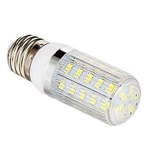 G9 7w 36x5730smd 700lm 6000-6500k luz blanca bombilla LED de maíz (220-