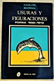 img - for Usuras y Figuraciones. Poes a 1952-1972 book / textbook / text book