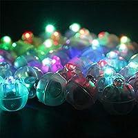 60 Piezas LED Lámpara Globo,Mini LED Bombillas Luz,Redonda Pelota ...