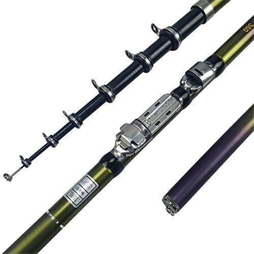 Outdoor Telescopic Fiberglass River Stream Lake Rod Pod Carp Fishing 3.6 m