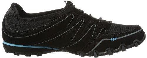 Zapatillas mujer para Skechers nbsp;Sole Blk Charmer Negro Bikers Noir fOP4Wt