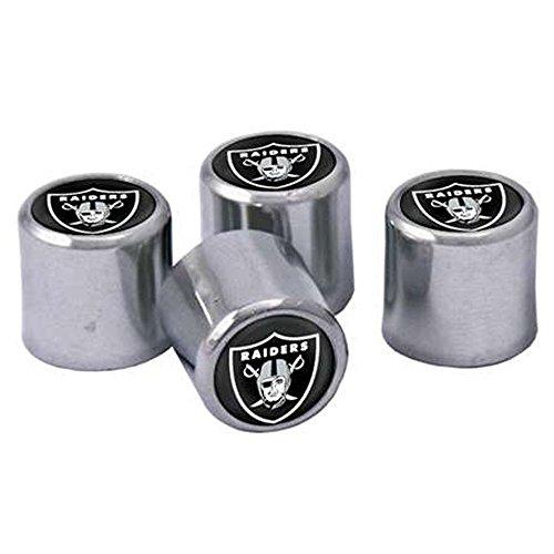 Oakland Raiders Valve Stem Caps