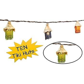 Fun Patio Lights Amazon topnotch outlet tiki lights string lights fun tiki topnotch outlet tiki lights string lights fun tiki hut luau theme for your home workwithnaturefo