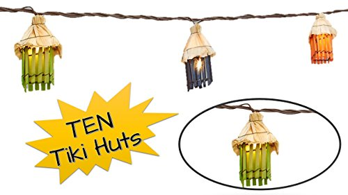 Bamboo Tiki Garden String Lights