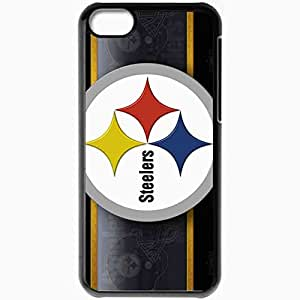 Personalized iPhone 5C Cell phone Case/Cover Skin 1193 pittsburgh steelers 0 Black