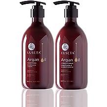 Luseta Argan Oil Moisture Repair Shampoo and Conditioner Set