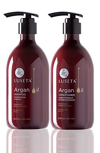 Luseta Argan Oil Moisture Repair Shampoo and Conditioner Set ()