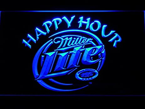Amazon bingirl miller lite happy hour beer bar led neon light bingirl miller lite happy hour beer bar led neon light sign man cave 605 b aloadofball Gallery