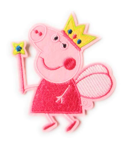Peppa Pig Tooth Fairy Iron On Patch