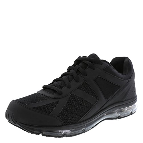 safeTstep Slip Resistant Men's Black Men's Blast Runner 6.5 Wide