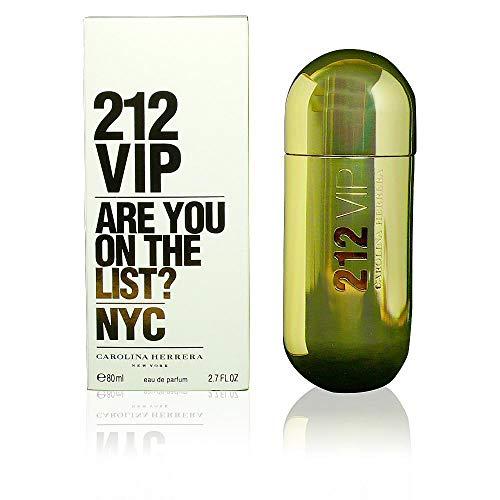 (Carolina Herrera 212 VIP Women Eau de Parfum Spray, 2.7 Ounce)