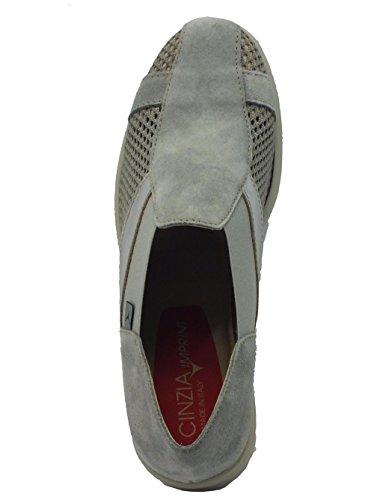 Cinzia Soft  9804 Grigio, Damen Mokassins Grau