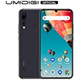 UMIDIGI A5 Pro 6.3'' FHD+ Unlocked Smartphone with Triple Main Camera(16MP+8MP+5MP), 32GB+4GB Ram GSM Cell Phones International Version, Dual 4G LTE, Android 9.0-Grey