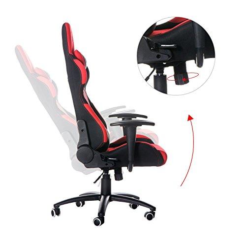 Merax Ergonomic Office Race Car Seat Racing Chair Gaming Chair
