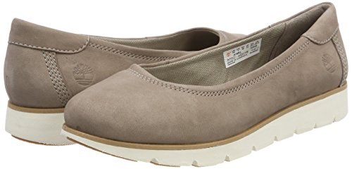 Closed Women''s Grey Luscious 929 Timberland taupe Ballet Florence Flats Air Toe Hwx0qtd